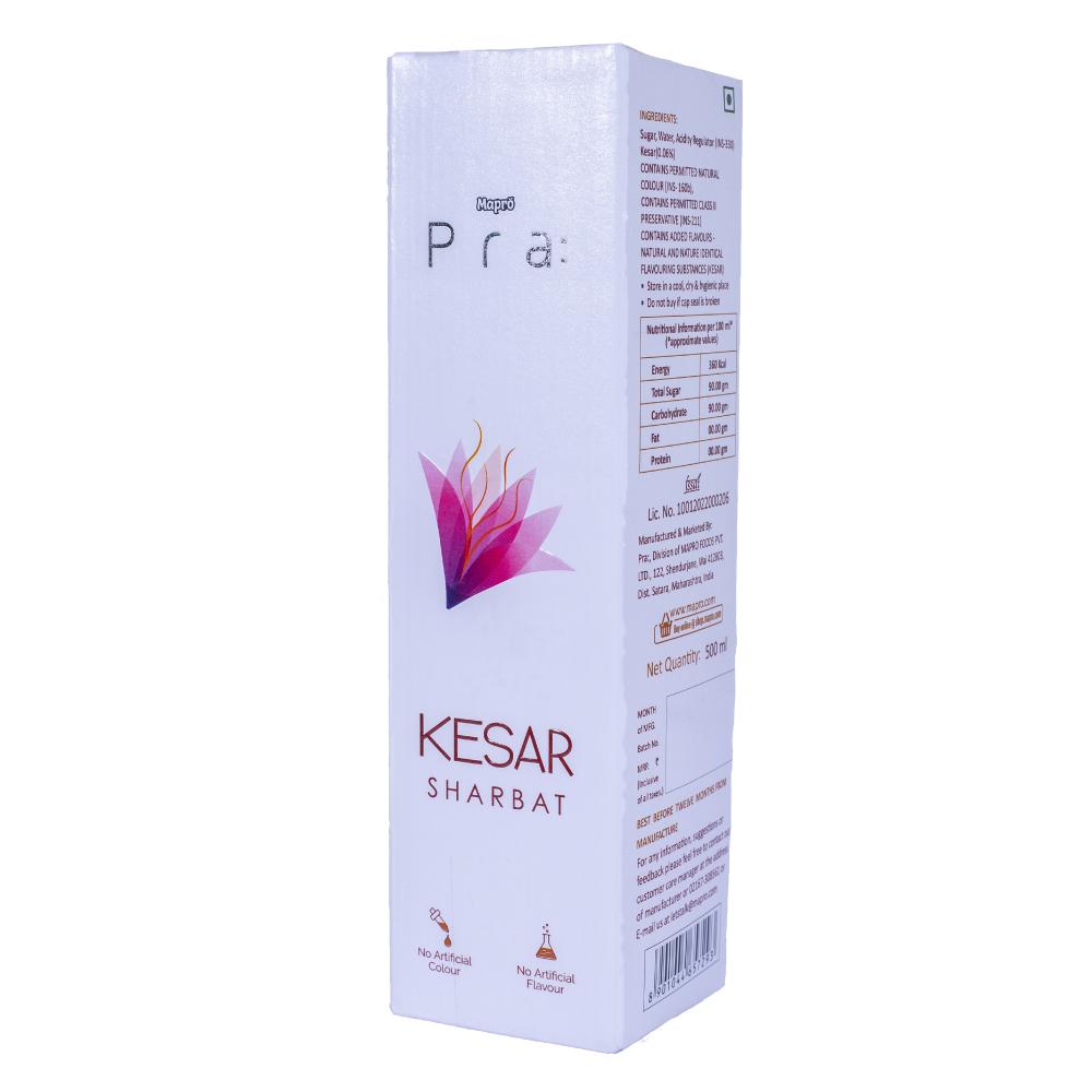 Kesar Sharbat 500ml