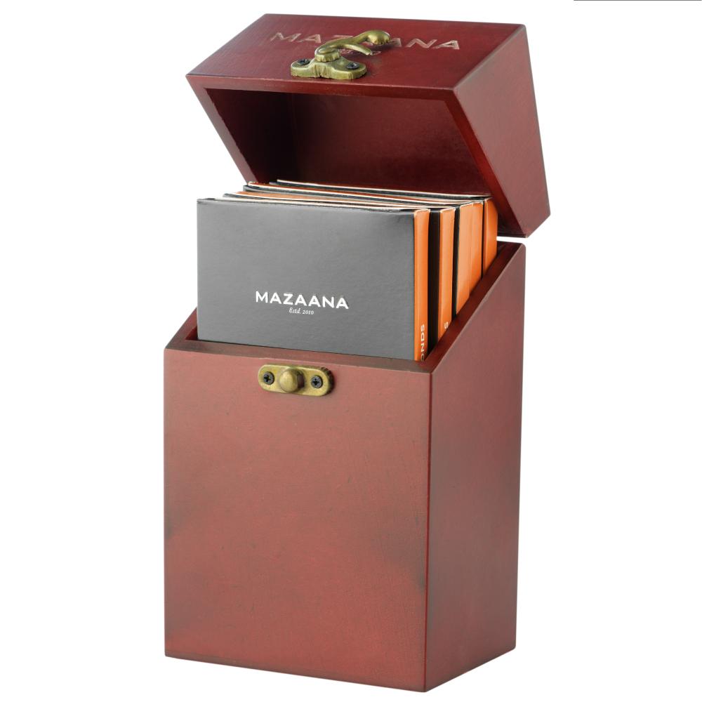 Mazaana Dark Chocolate with Almond Bar Pack of 5
