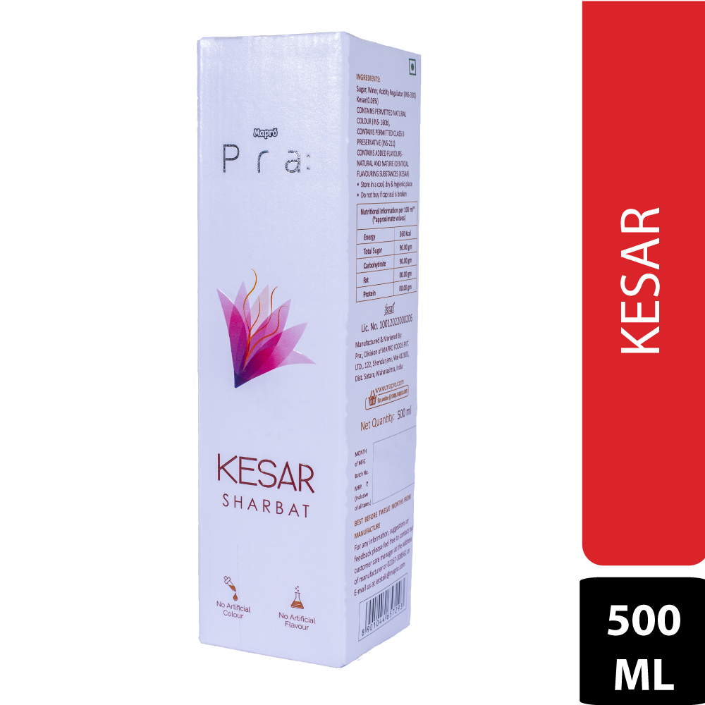Kesar Sharbat 500ml