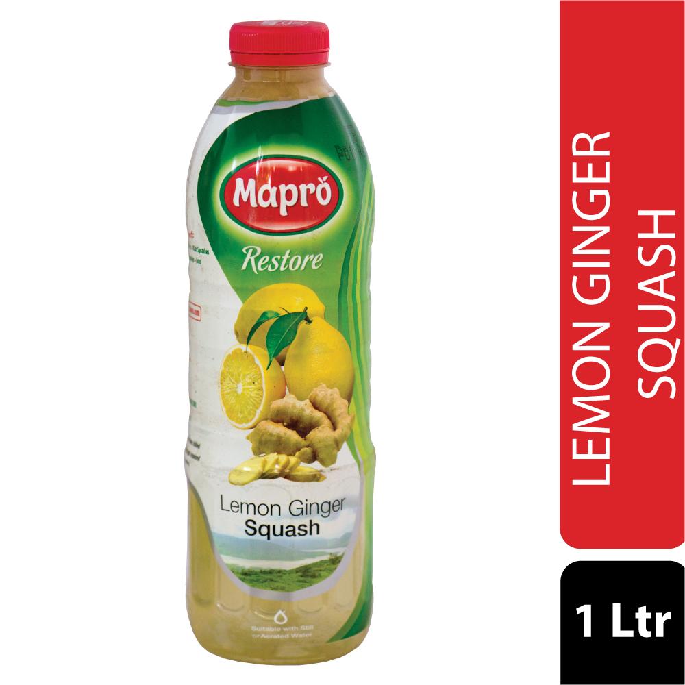 Lemon Ginger Squash 1000ml