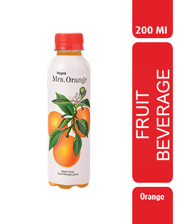 Orange Fruit Beverage 200ml