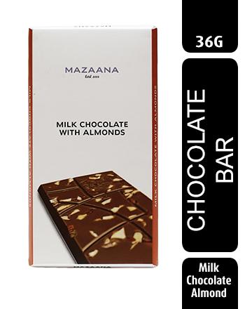 Mazaana Milk Chocolate with Almond