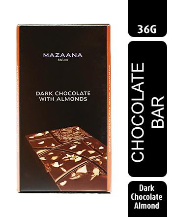 Mazaana Dark Chocolate with Almonds