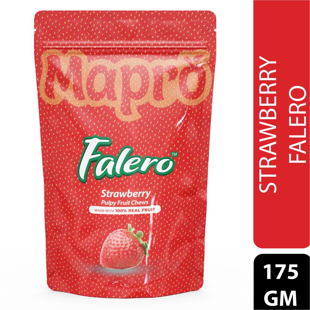 Strawberry Falero Pulpy Fruit Chews 175gm