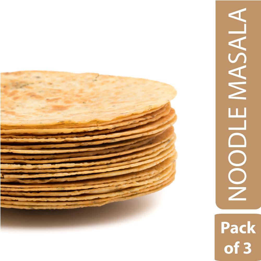 Noodle Masala Khakhra (Pack of 3)