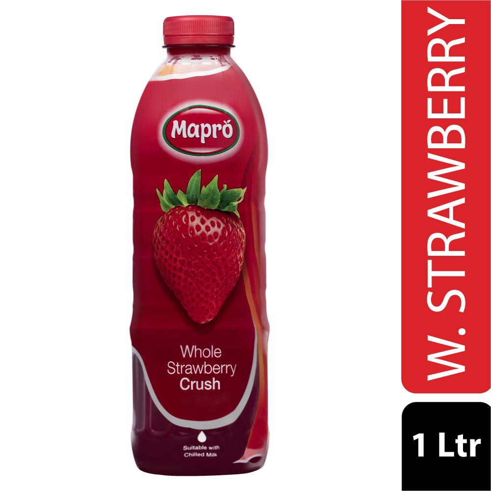 Whole Strawberry Crush 1000ml