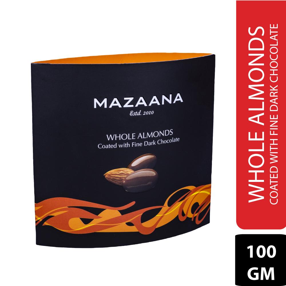Whole Almond Coated with Fine Dark Chocolate